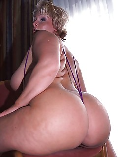 Mature big arse quickly popped